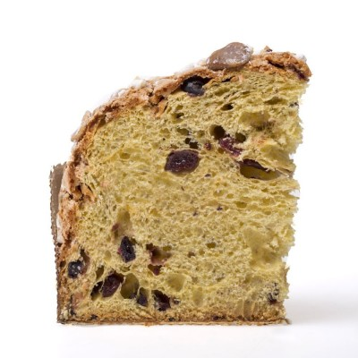 Colomba with berry fruit