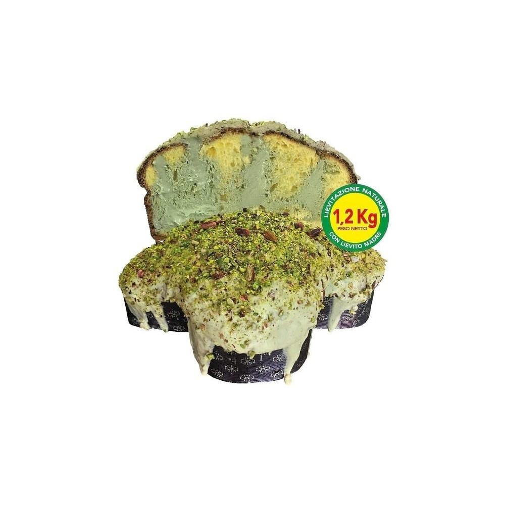 """Colomba artigianale Brontese con """"Pistacchio Verde di Bronte D.O.P."""""""