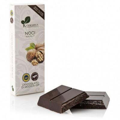 Schokolade aus Modica mit Walnüsse