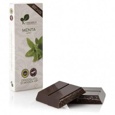 Chocolat de Modica à la menthe