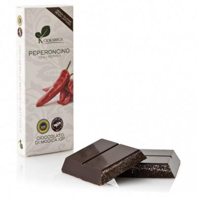 Schokolade aus Modica mit Chili