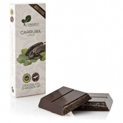 Schokolade aus Modica mit Johannisbrot