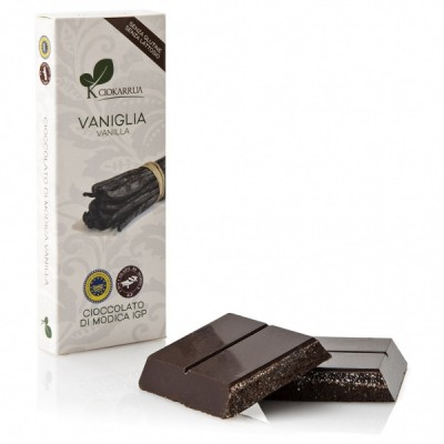 Chocolat de Modica à la vanille