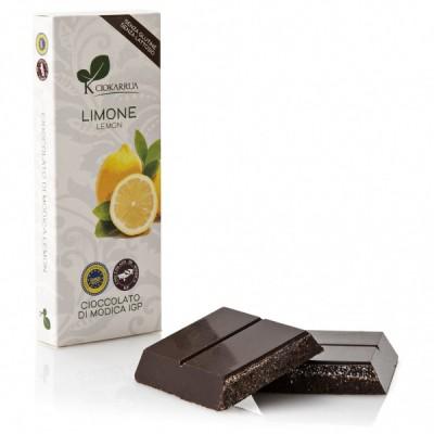 Schokolade aus Modica mit Zitrone