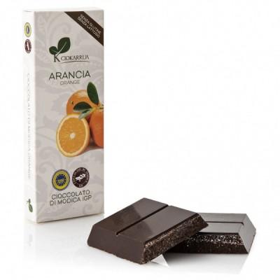 Schokolade aus Modica mit orange