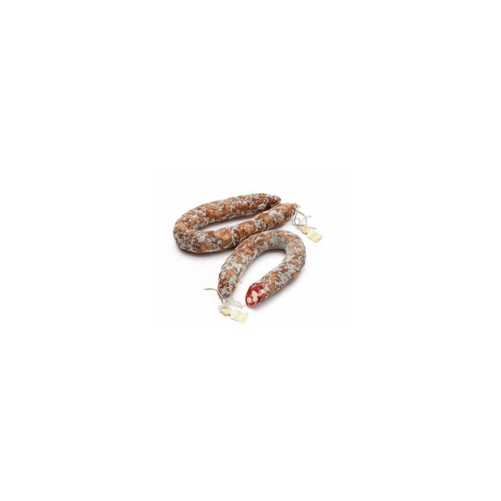 Saucisse de porc noir des Nebrodi