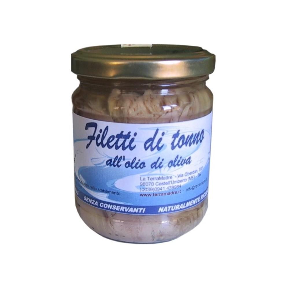 Filets de thon à l'huile