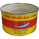 Sardines salées