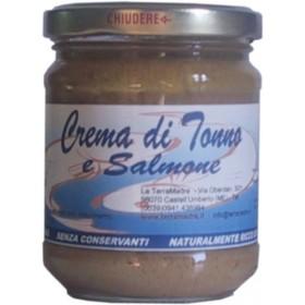Crème de thon et de saumon
