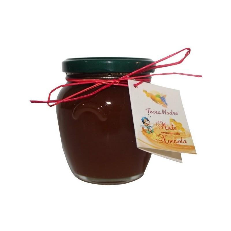 Miel aromatisé à la noisette