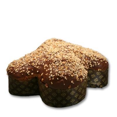 Colomba mit Schokolade