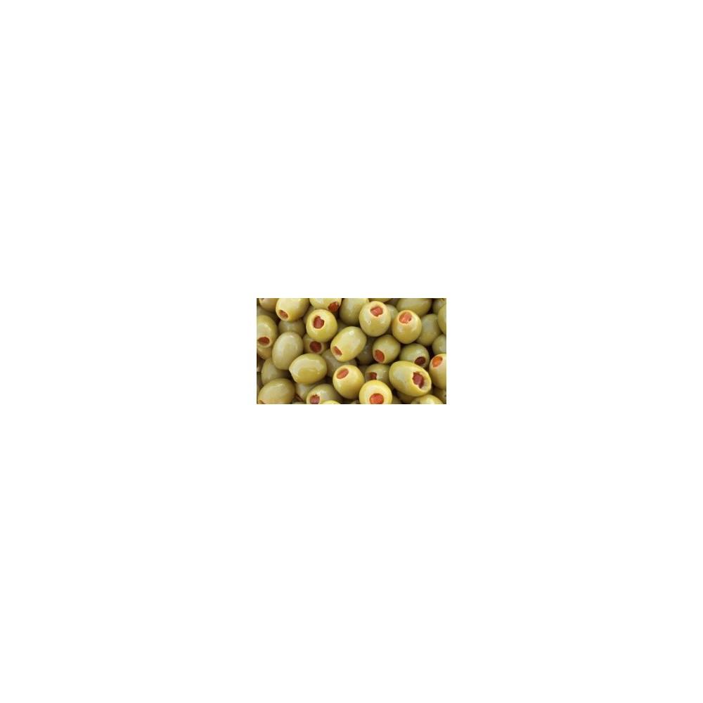 Olives vertes à l'orange