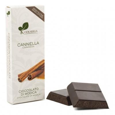 Schokolade aus Modica mit Zimt