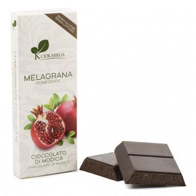 Schokolade aus Modica mit Granatapfel