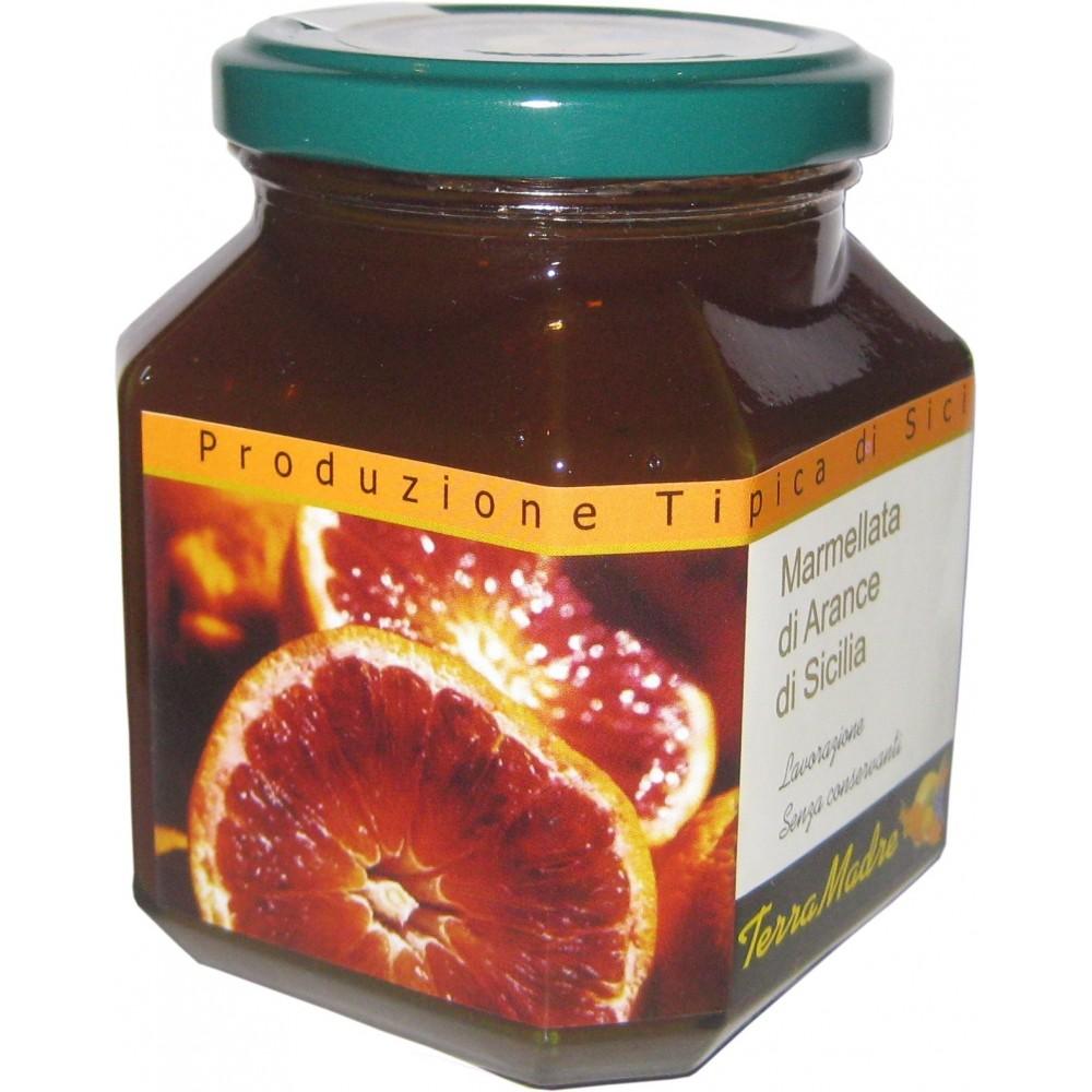 Marmelade d'orange sanguine