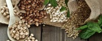 Organic dried legumes