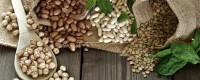 Getrocknete Hülsenfrüchte aus Sizilien