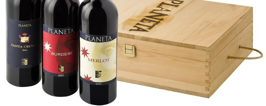 Cadeau vin coffret