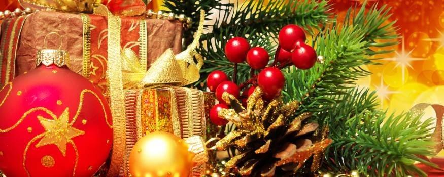 Weihnachten Körbe